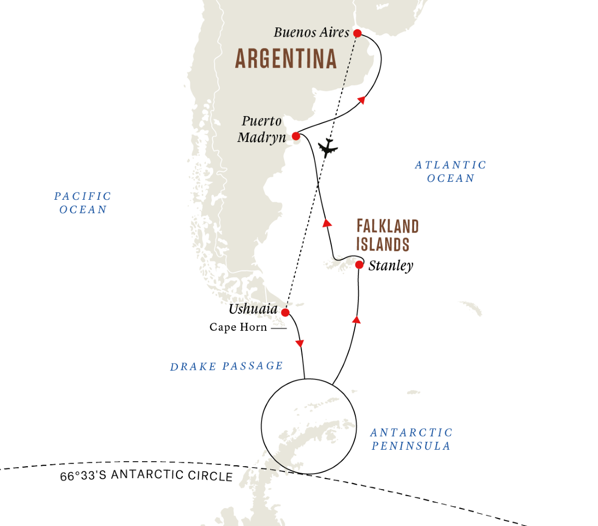 Antarctica and Falklands - Southern Hemisphere Adventure