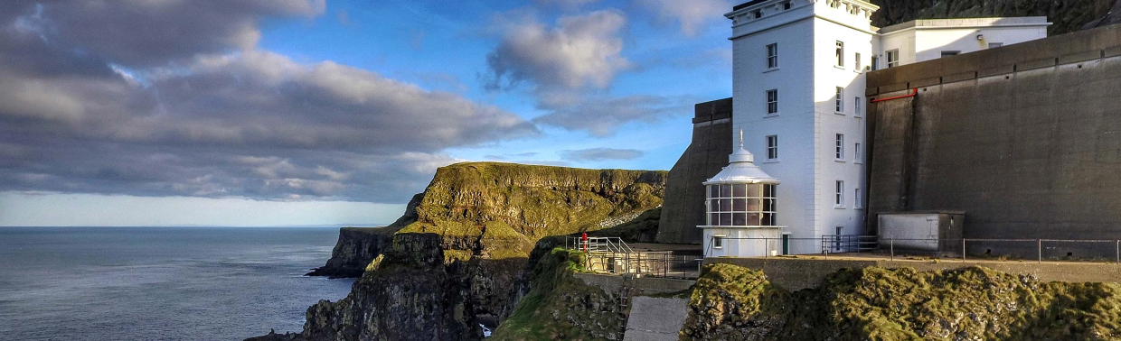 Rathlin West lighthouse is one of the most intriguing attractions on the island.