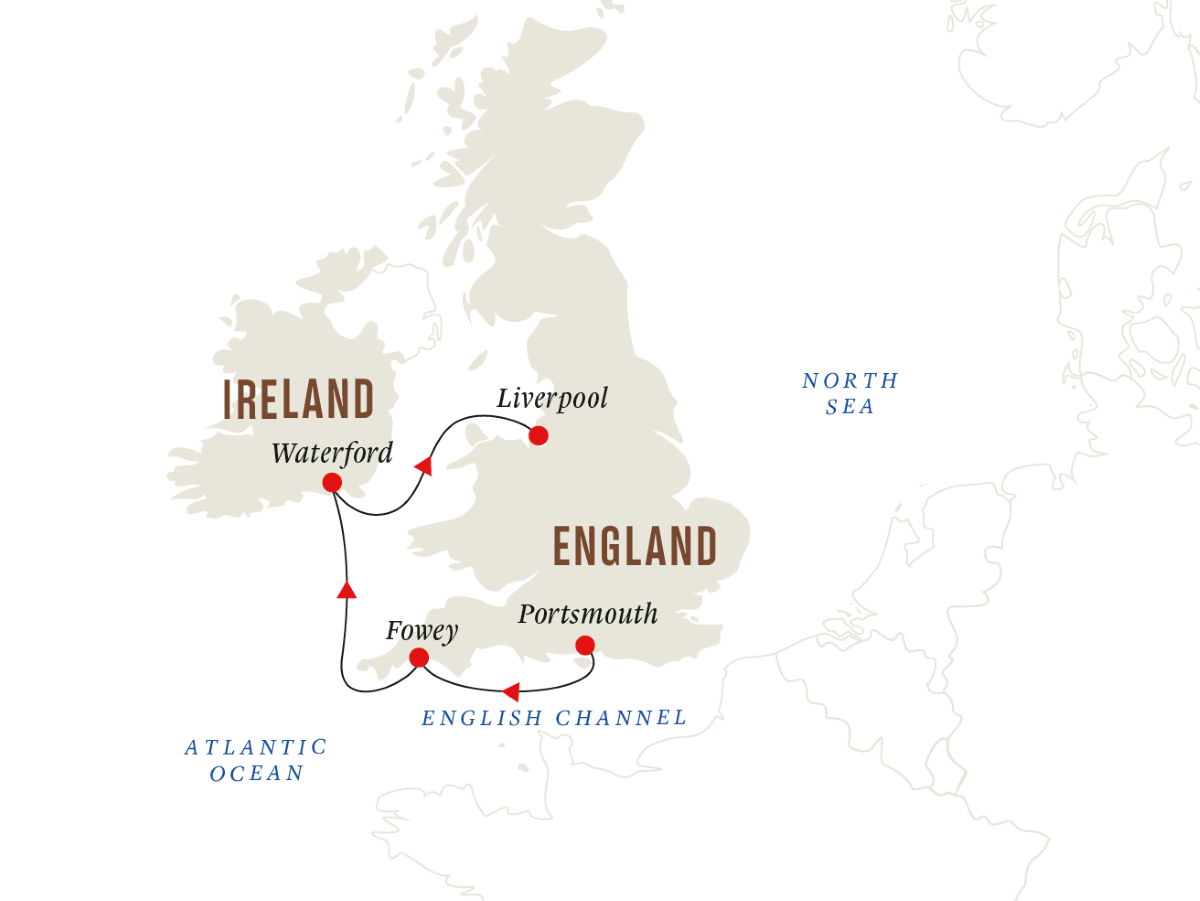 British Isles – Historic Ports of the English Channel and Irish Sea