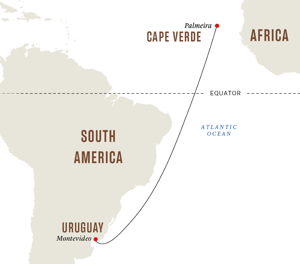 From Montevideo to Cape Verde – Holistic Wellness Retreat at Sea
