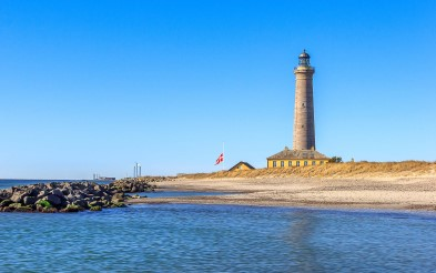 Lighthouse in beautiful Skagen.