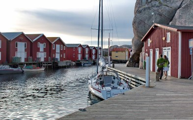Fishermen's houses on Smögen.