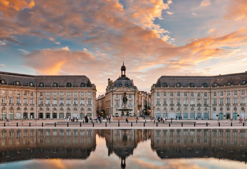 The Old City in Bordeaux is a designated World Heritage Site.