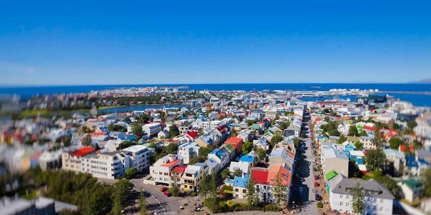 Explore the colourful city of Reykjavik.