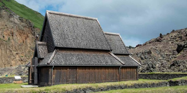 A visit to Heimaey stave church, Iceland.