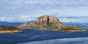 Torghatten, the mountain with a hole