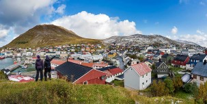 Great view of Honningsvåg