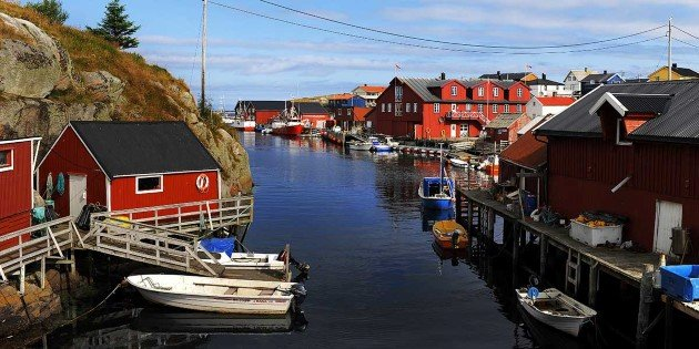 Mausundvær, a typical fishing island