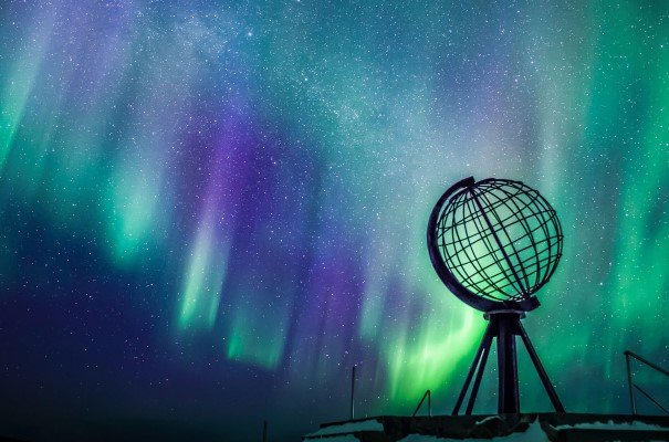 Hunt the Northern Lights at North Cape.