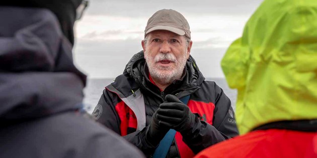 John Chardine of Hurtigruten´s Expedition Team