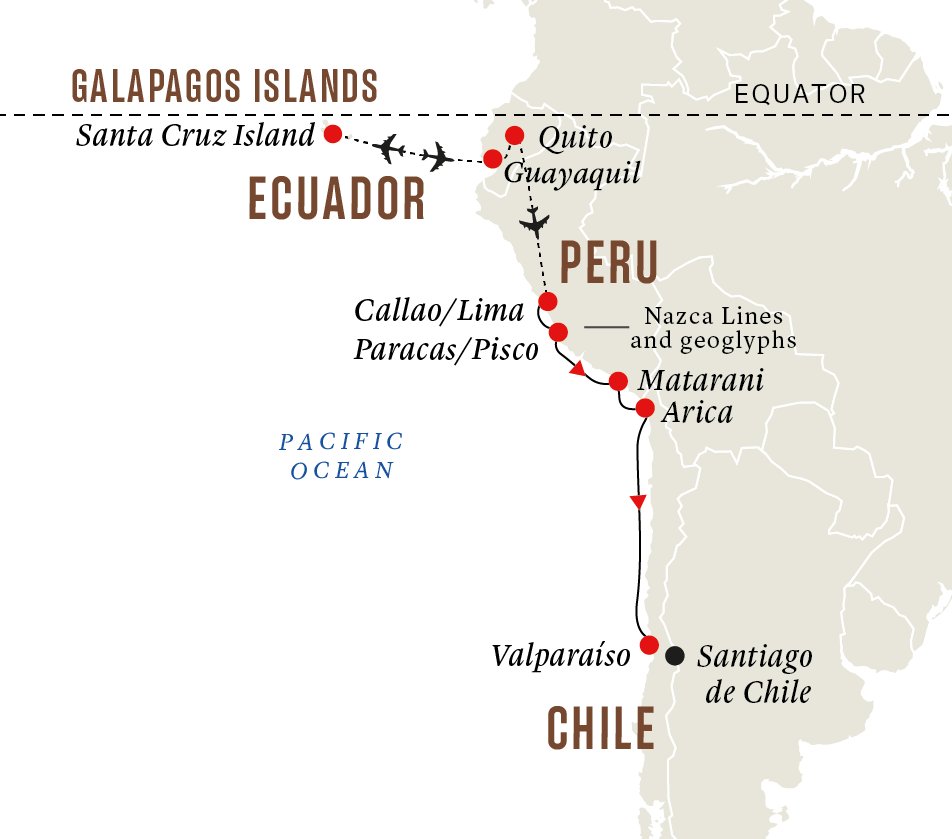 Peru and Chile - Galápagos Islands and Inca Highlights