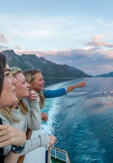 Basic services at an affordable price on board Hurtigruten