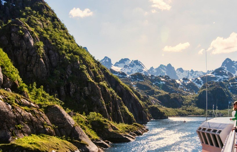 "We mean it when we say ""No one takes you closer to the Norwegian coast than us""."
