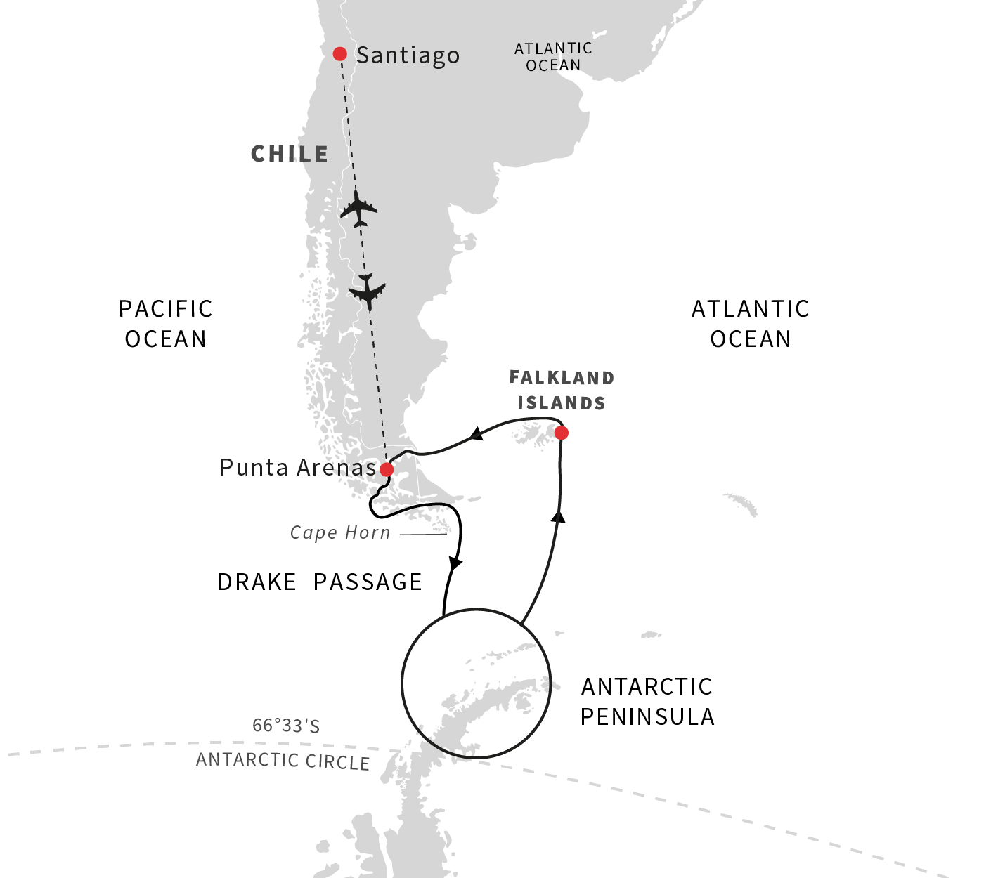 Cruise To Chile Antarctica And Falklands In 2019 2020