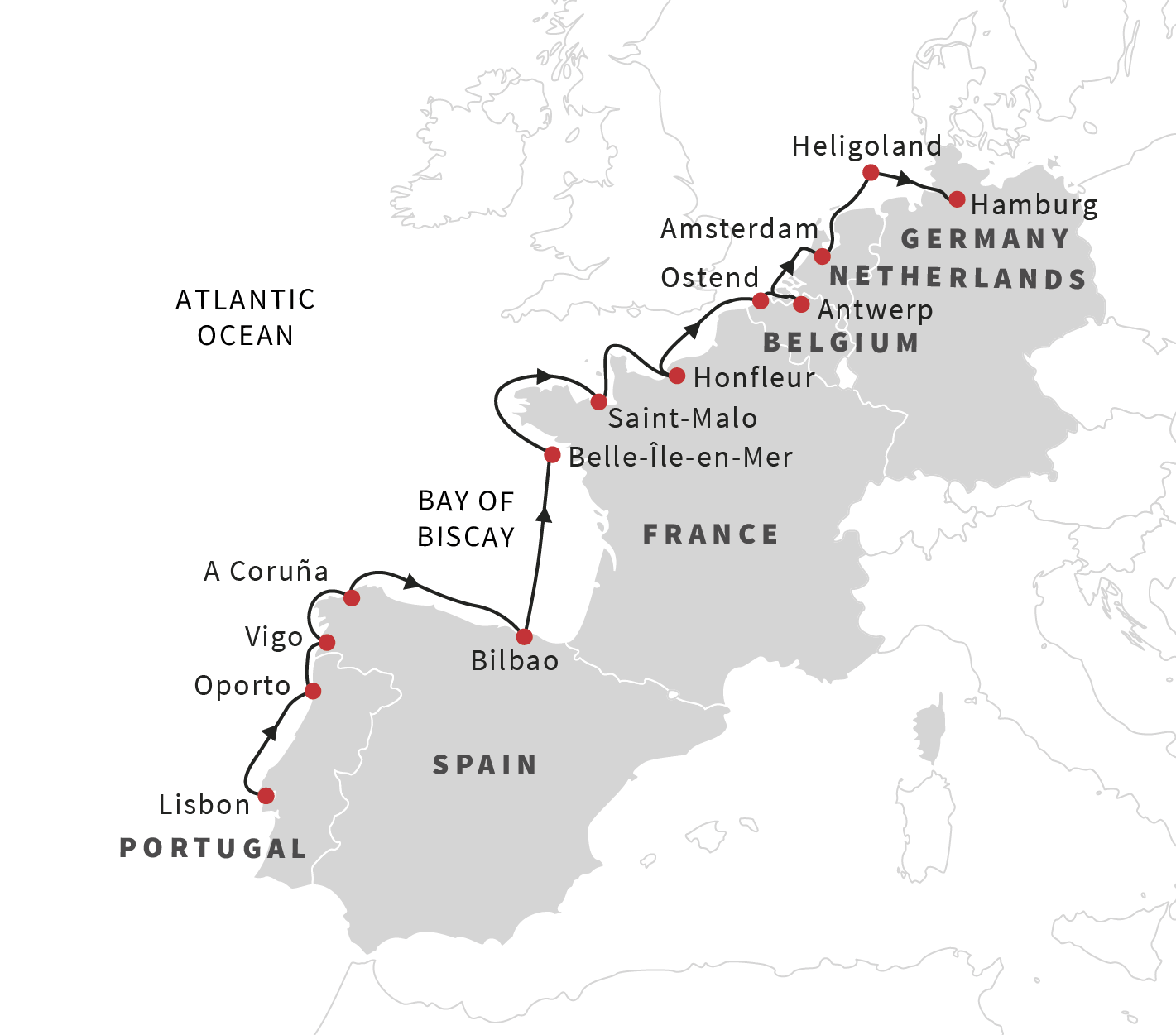 Cruise the european coast from lisbon to hamburg may 2019 see many of the unesco world heritage sites along the european coast gumiabroncs Images