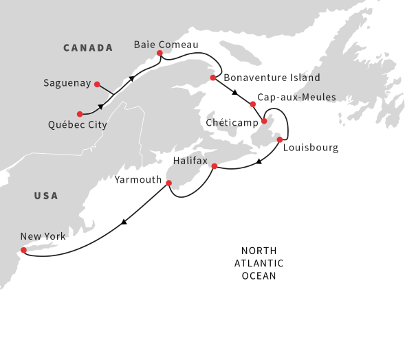Cruise Northeast US and Canada: Québec City to New York City ...