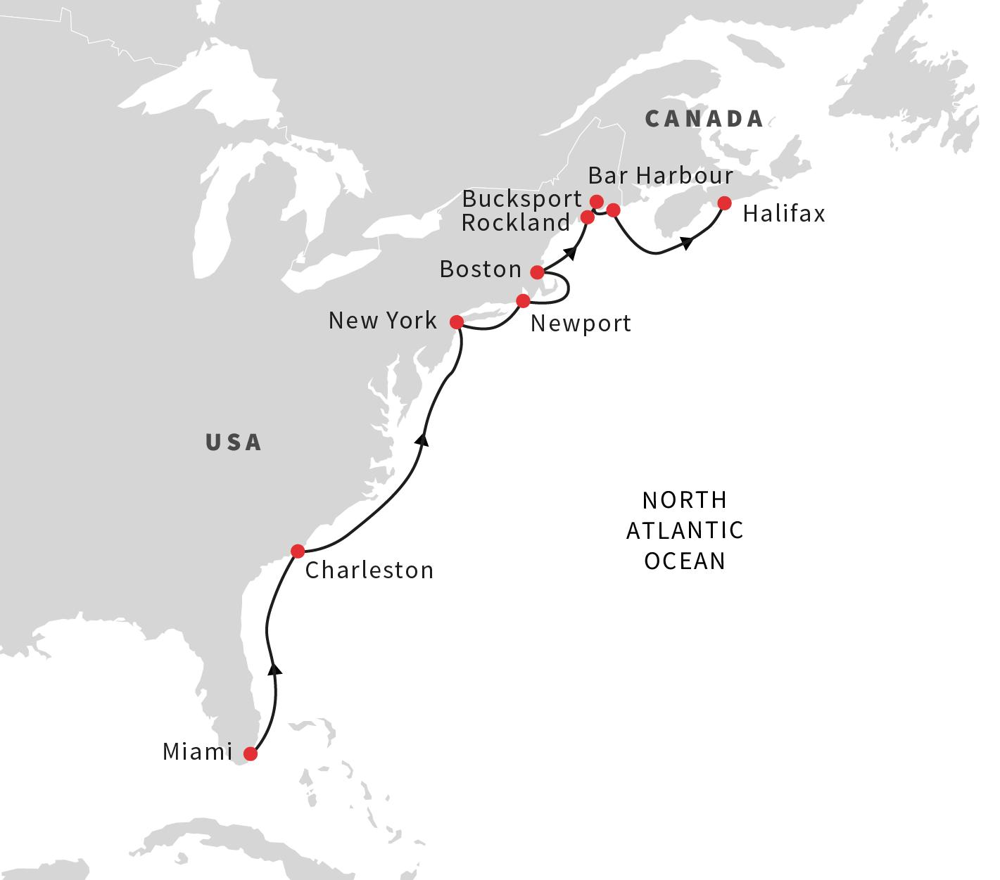 Resultado de imagen de Hurtigruten halifax canada