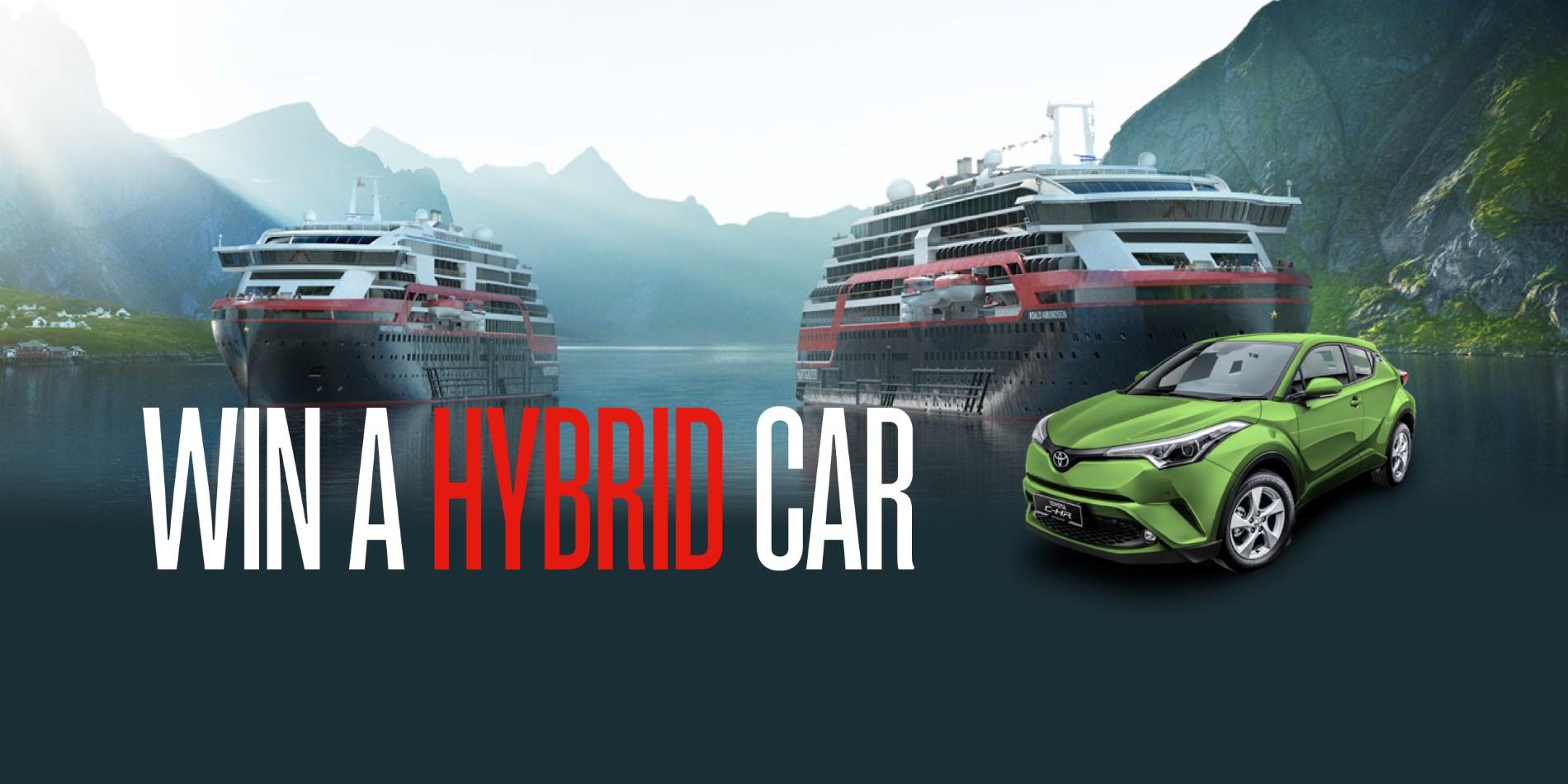 Win a HYBRID Car! | Hurtigruten UK