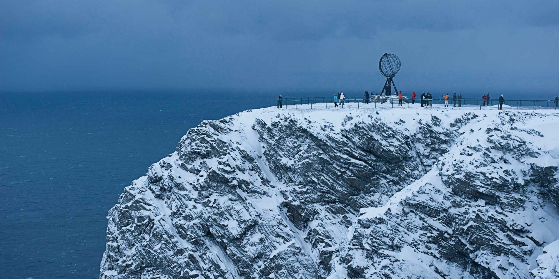 The North Cape in winter