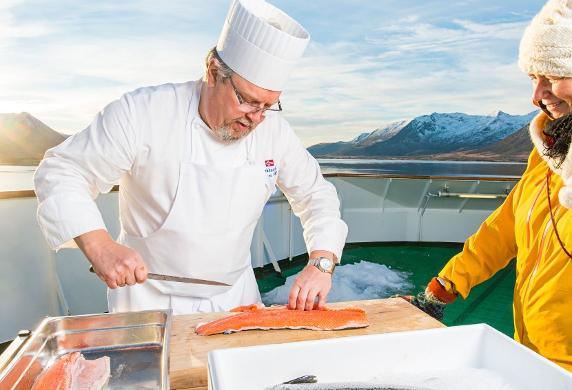 Enjoy local specialties from our food concept, Norway's Coastal Kitchen