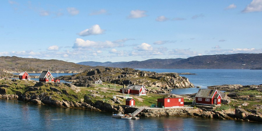 The abandoned settlement of Assaqutaq Greenland