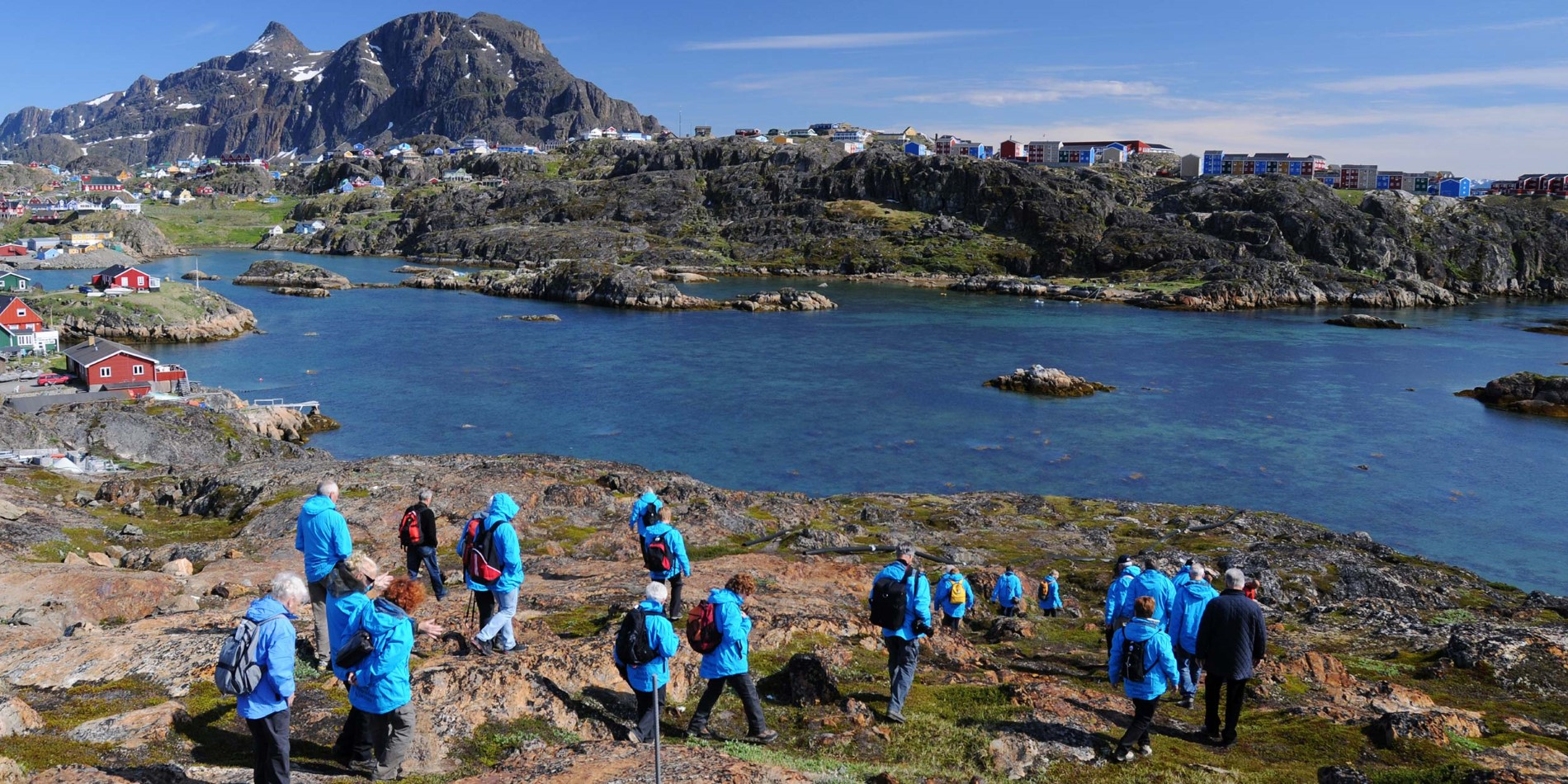 Hiking towards Sisimiut