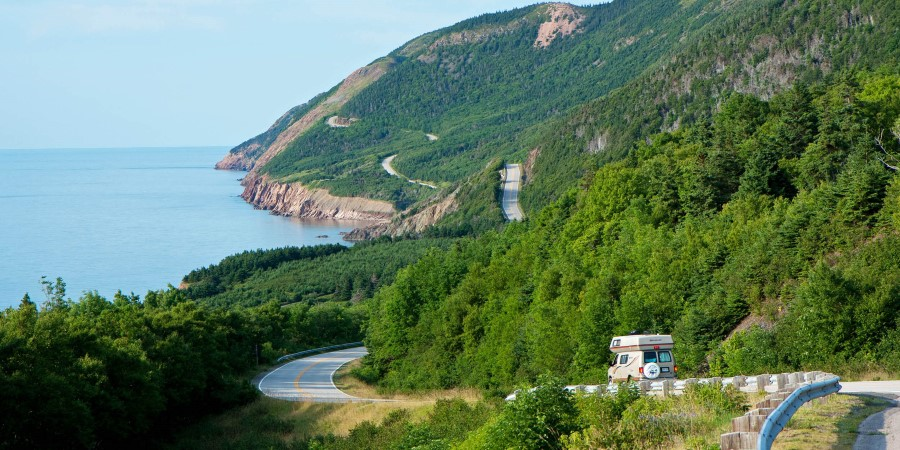 The famous Cabot Trail