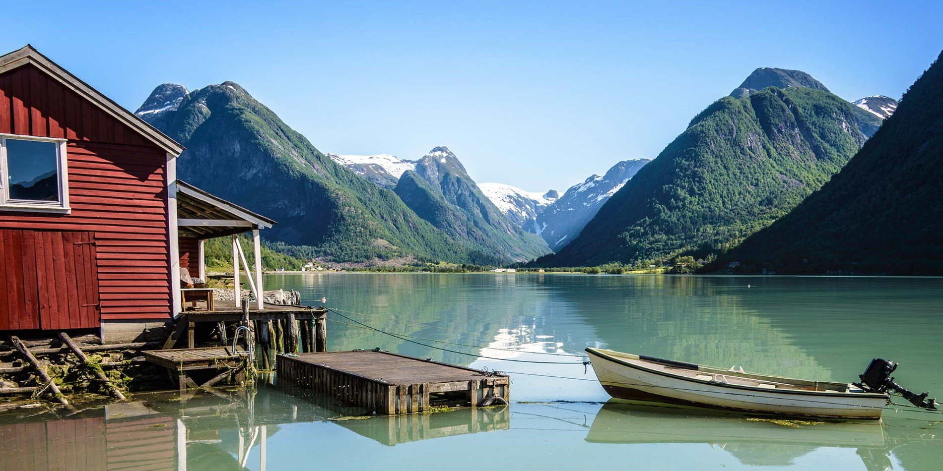 Sognefjord, the spectacular longest and deepest fjord in Norway