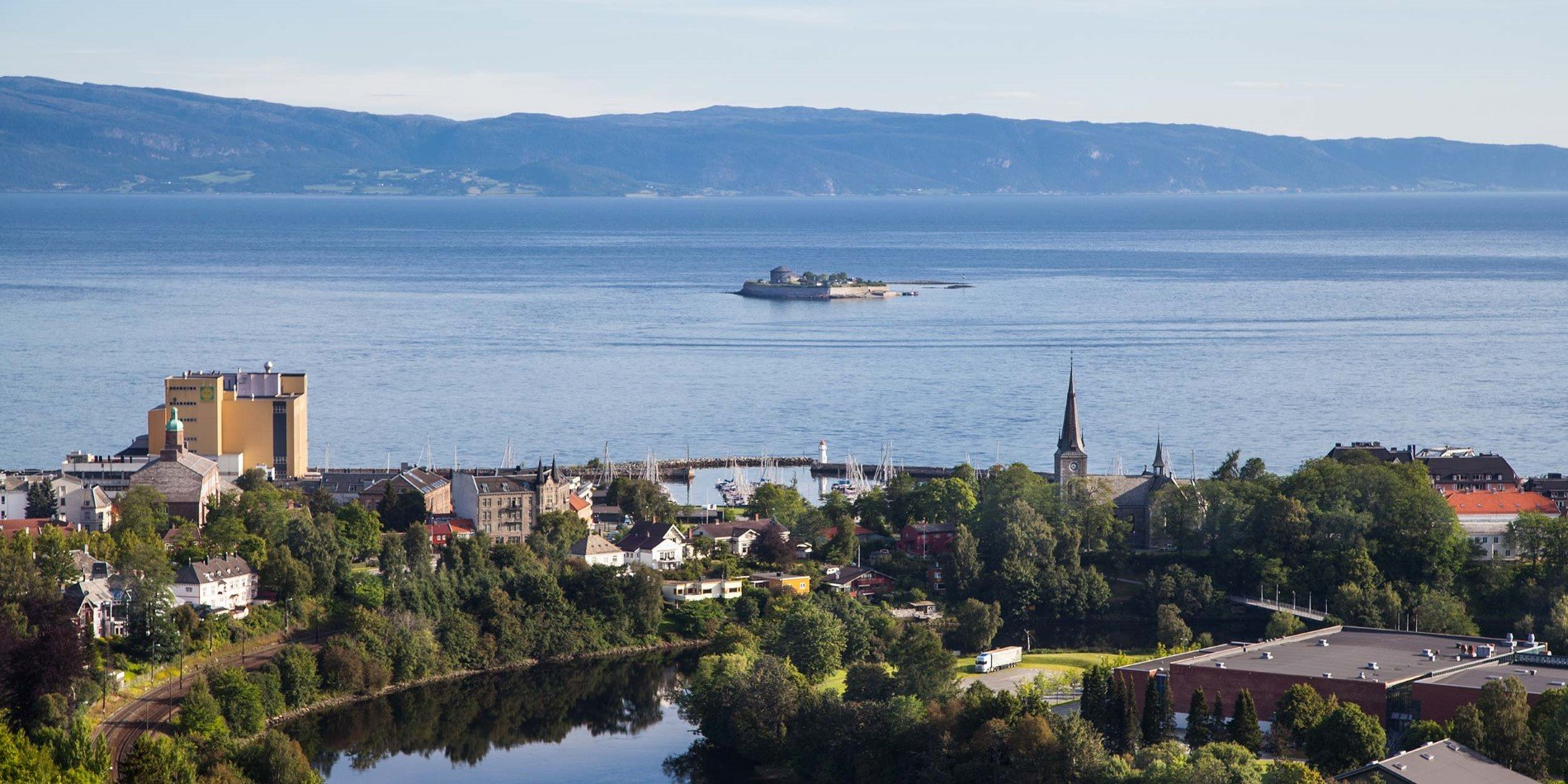 The Trondheimsfjord is Norway's third longest fjord