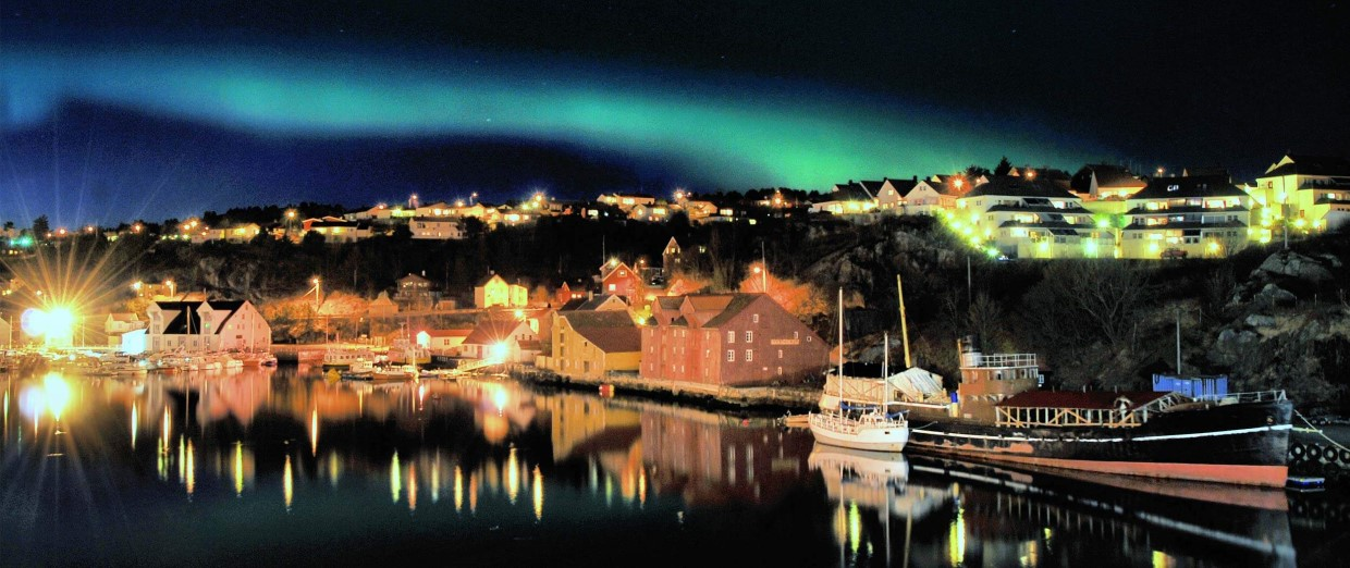 Northern Lights over Kristiansund