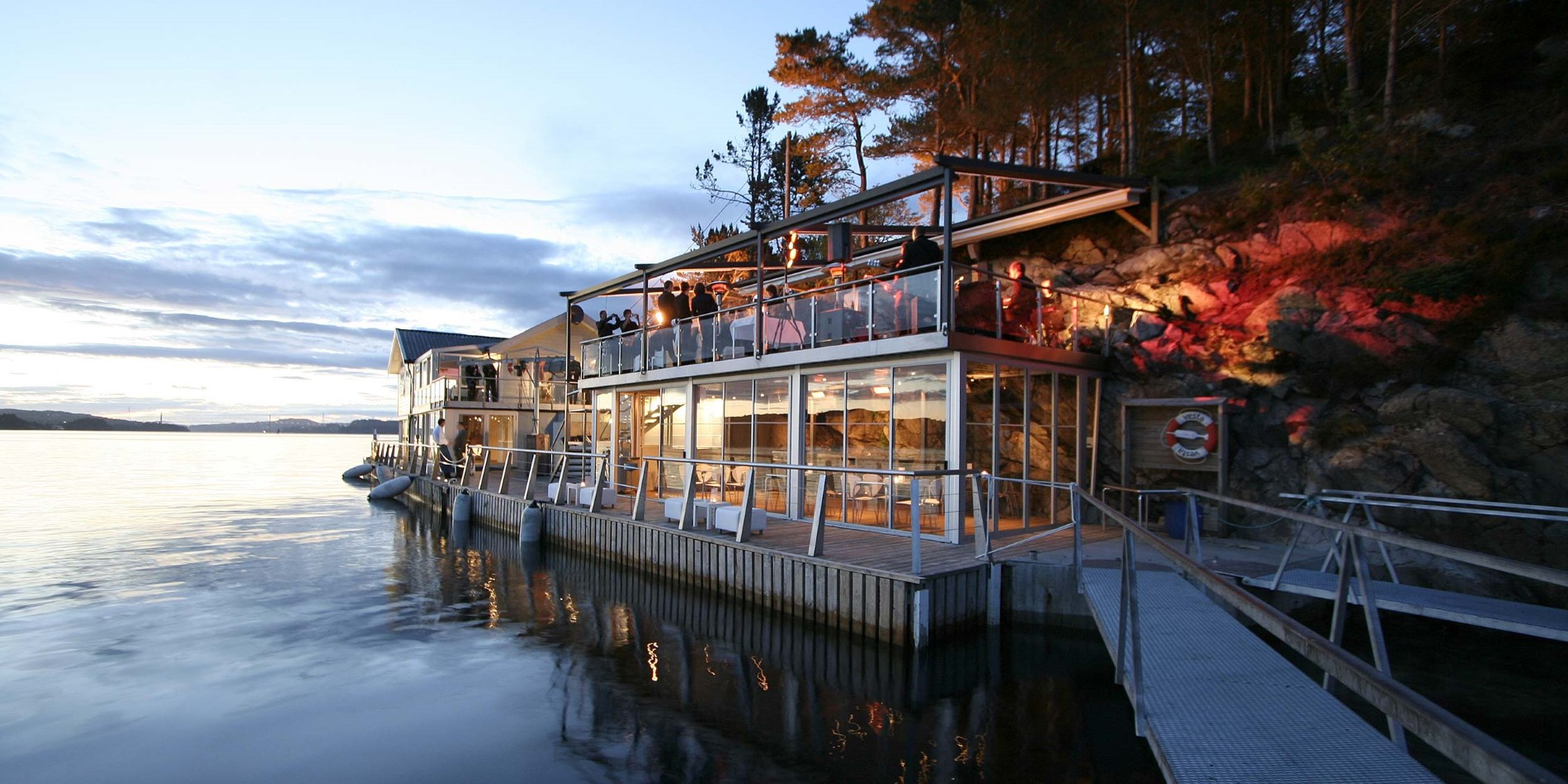 Island Seafood Dinner & Boat Trip in Bergen during a Hurtigruten voyage