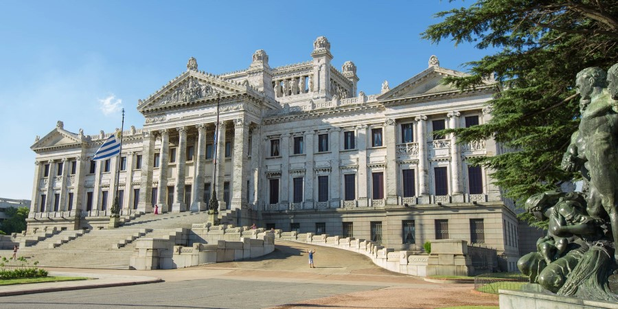 One of the many historic buildings in Montevideo