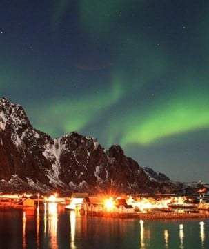 As you cross the Arctic Circle, the hunt for the Northern Lights begins.