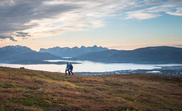 Join the Expedition Team for hikes to discover the beautiful areas around Tromsø.
