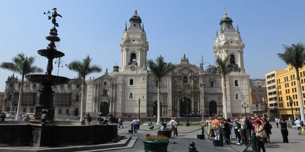 Lima´s historic centre is recognized as a World Heritage Site.