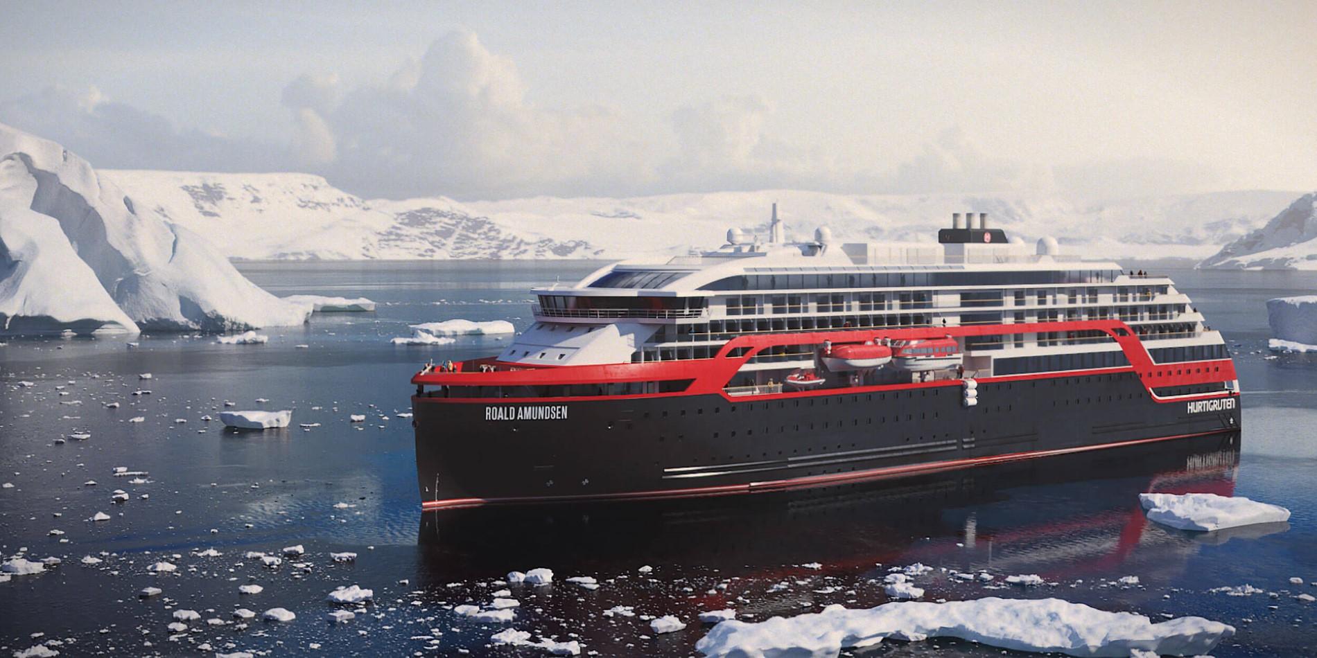 News and press releases: New hybrid explorer ships   Hurtigruten UK