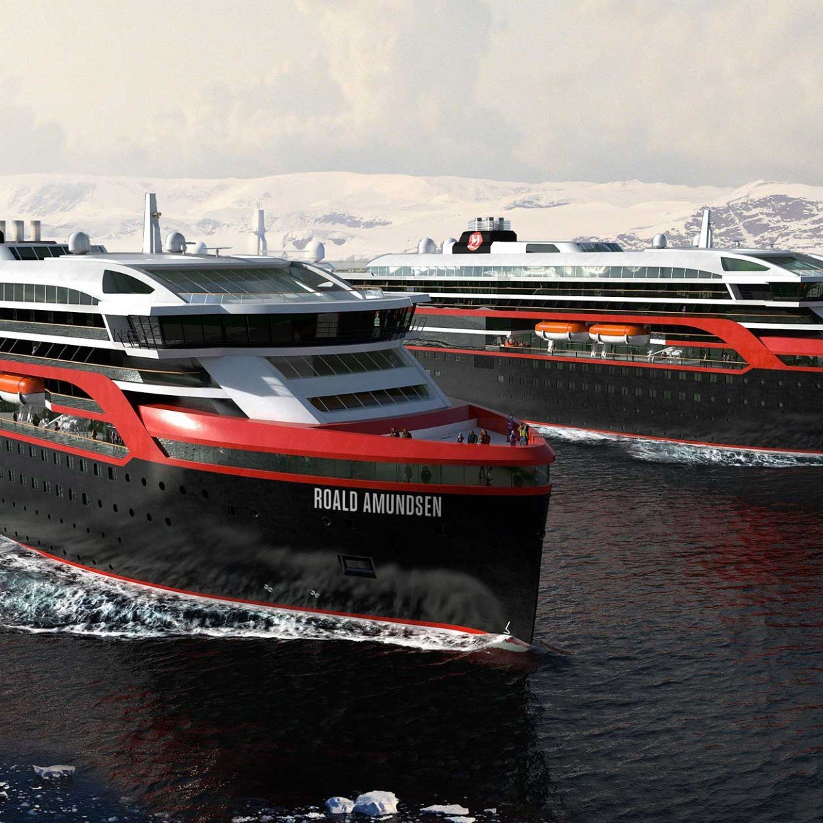 Sneak Peek At Hurtigruten S New Hybrid Ships Hurtigruten Uk